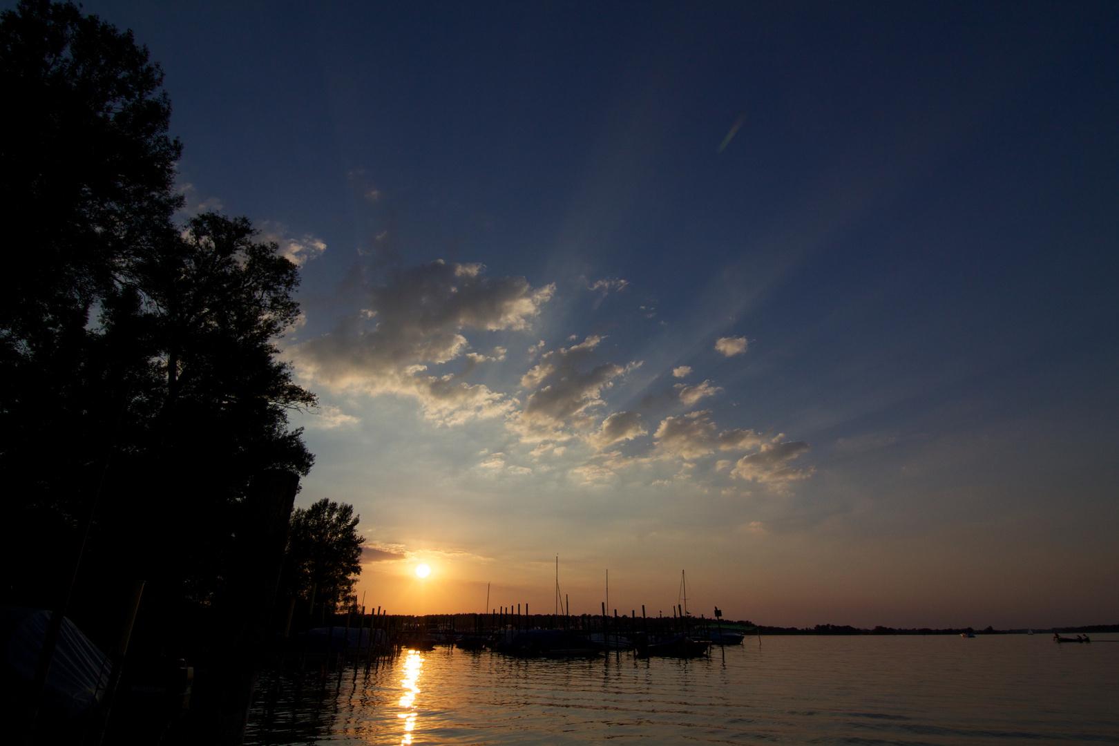 Norddeutschland, Sonnenuntergang