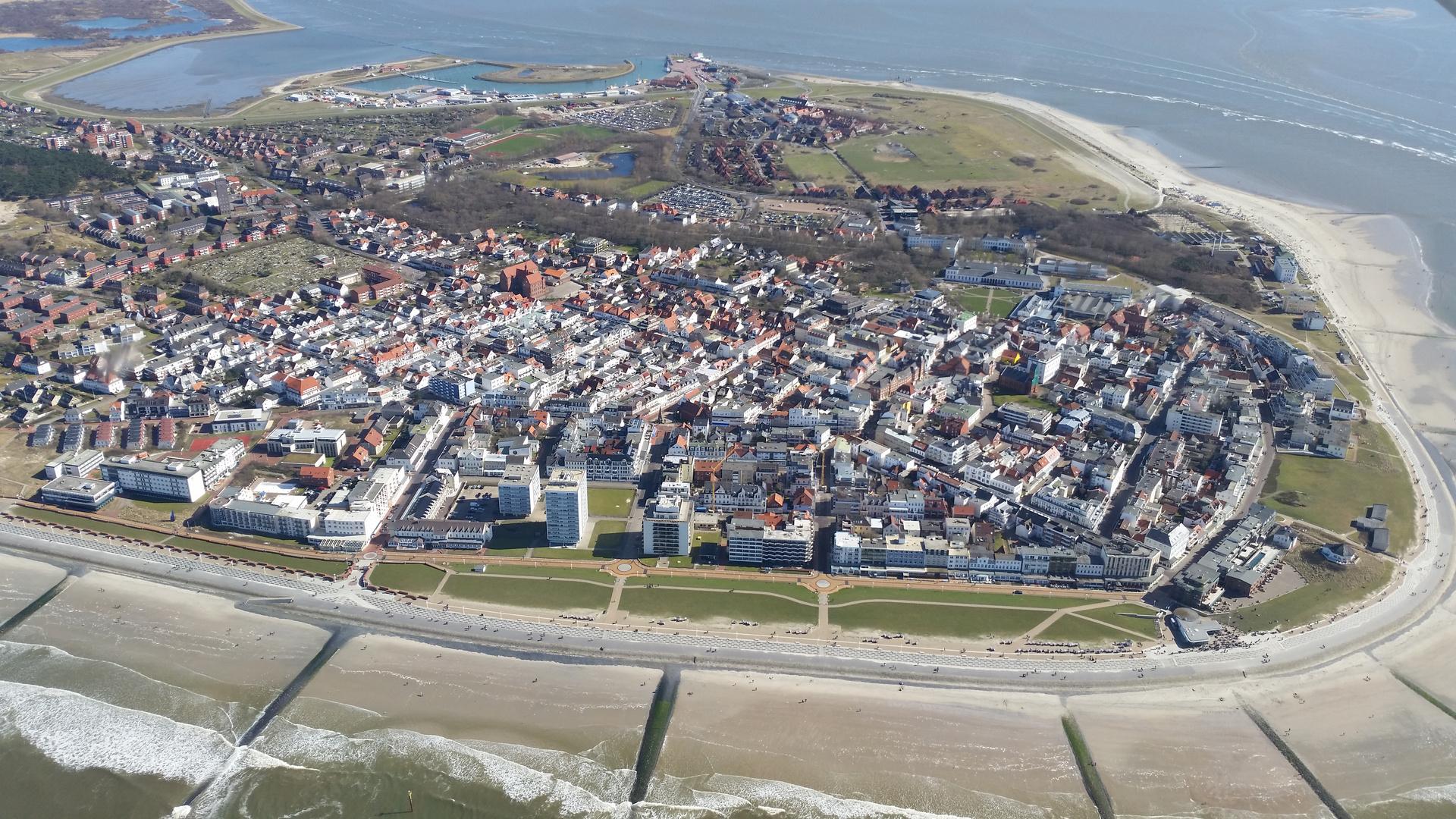 Norderney aus der Vogelperspektive II