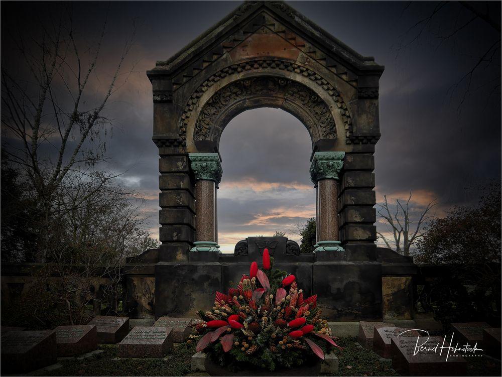 Nordfriedhof in Düsseldorf ....