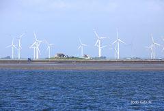 Nordfriesische Windräder