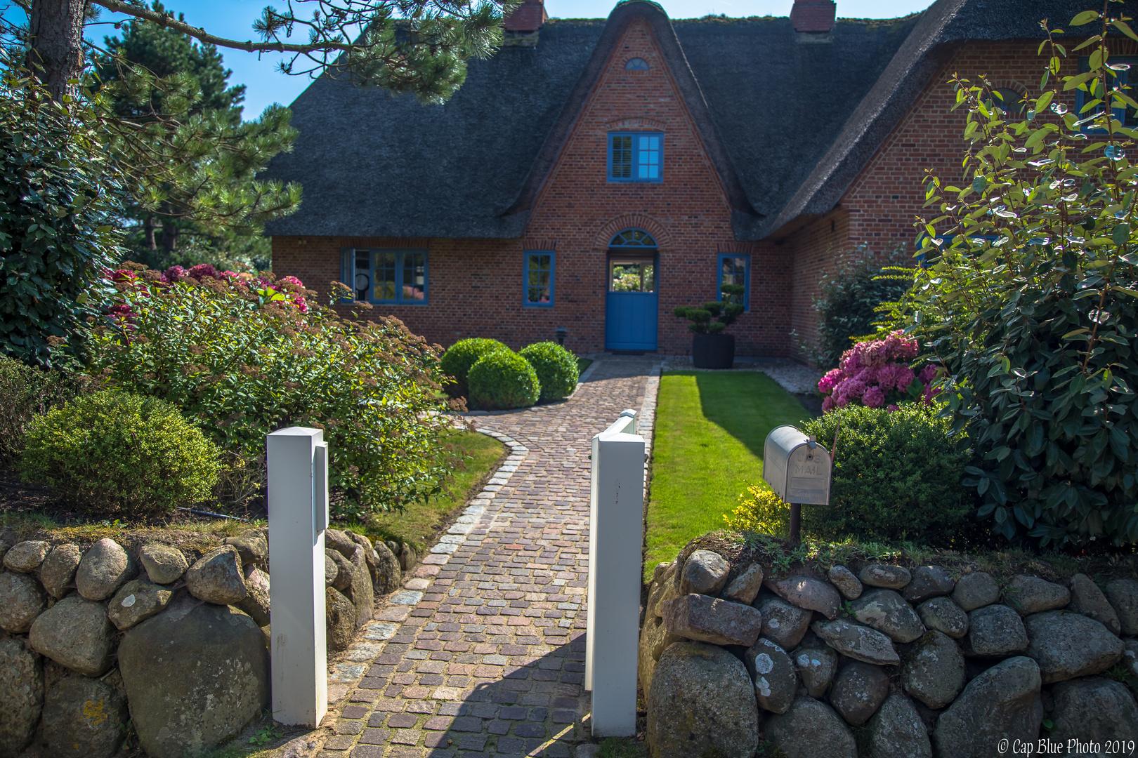 Nordfriesisches Haus mit Eingangsbereich in Kampen