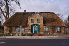 Nordfriesisches Reetdachhaus