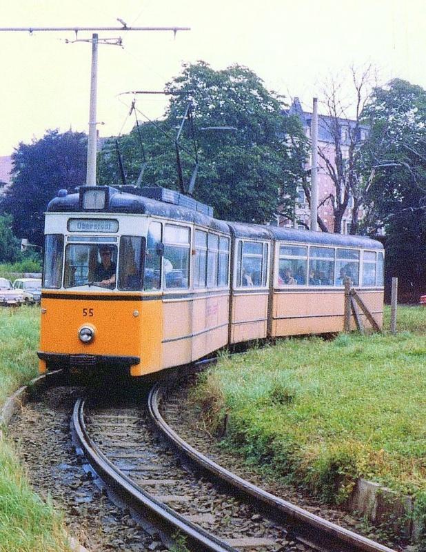 Nordhausen Bahnhofschleife 55 1985