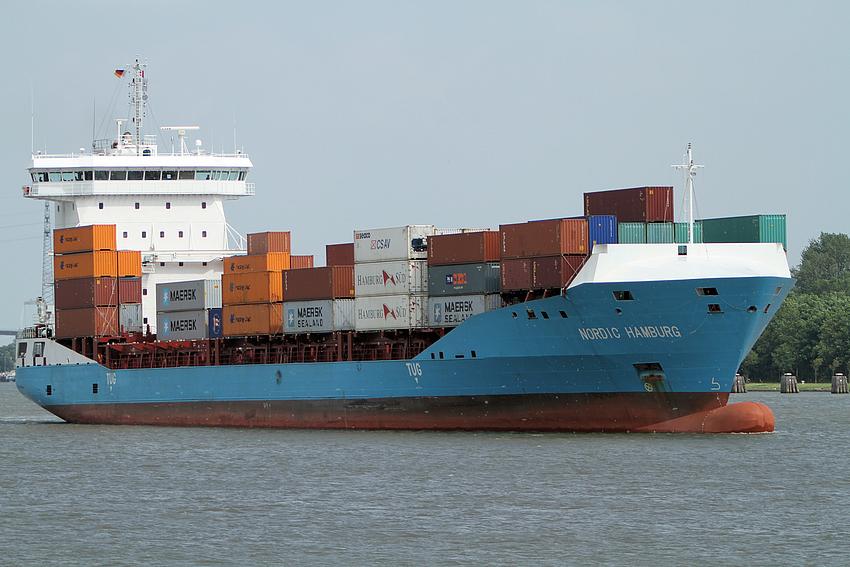 Nordic Hamburg auf dem Nord Ostsee Kanal