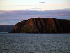 Nordkapp from the sea