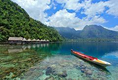 Nordküste Insel Seram Molukken
