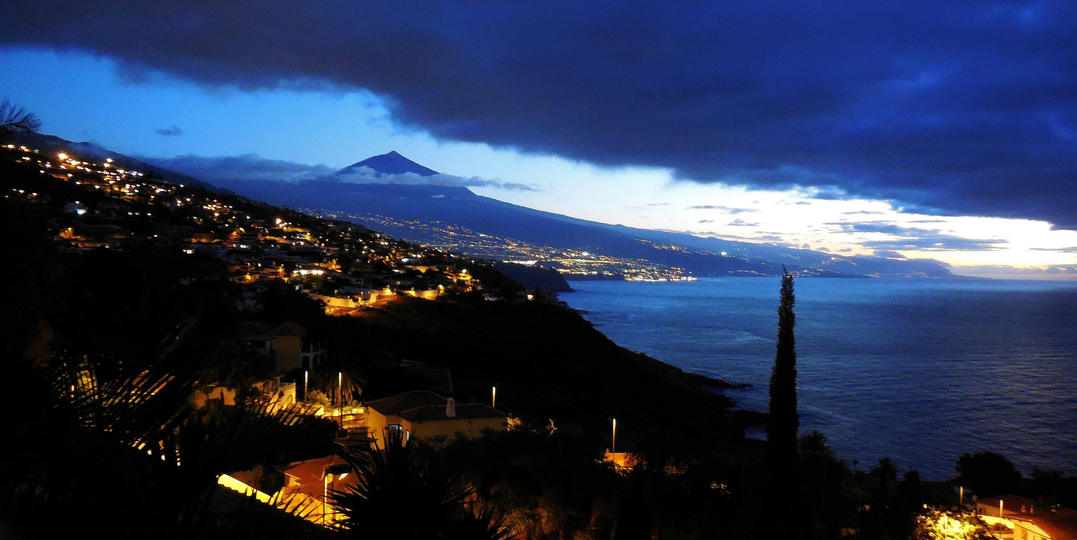 Nordküste Teneriffa mit dem Teide 38178m