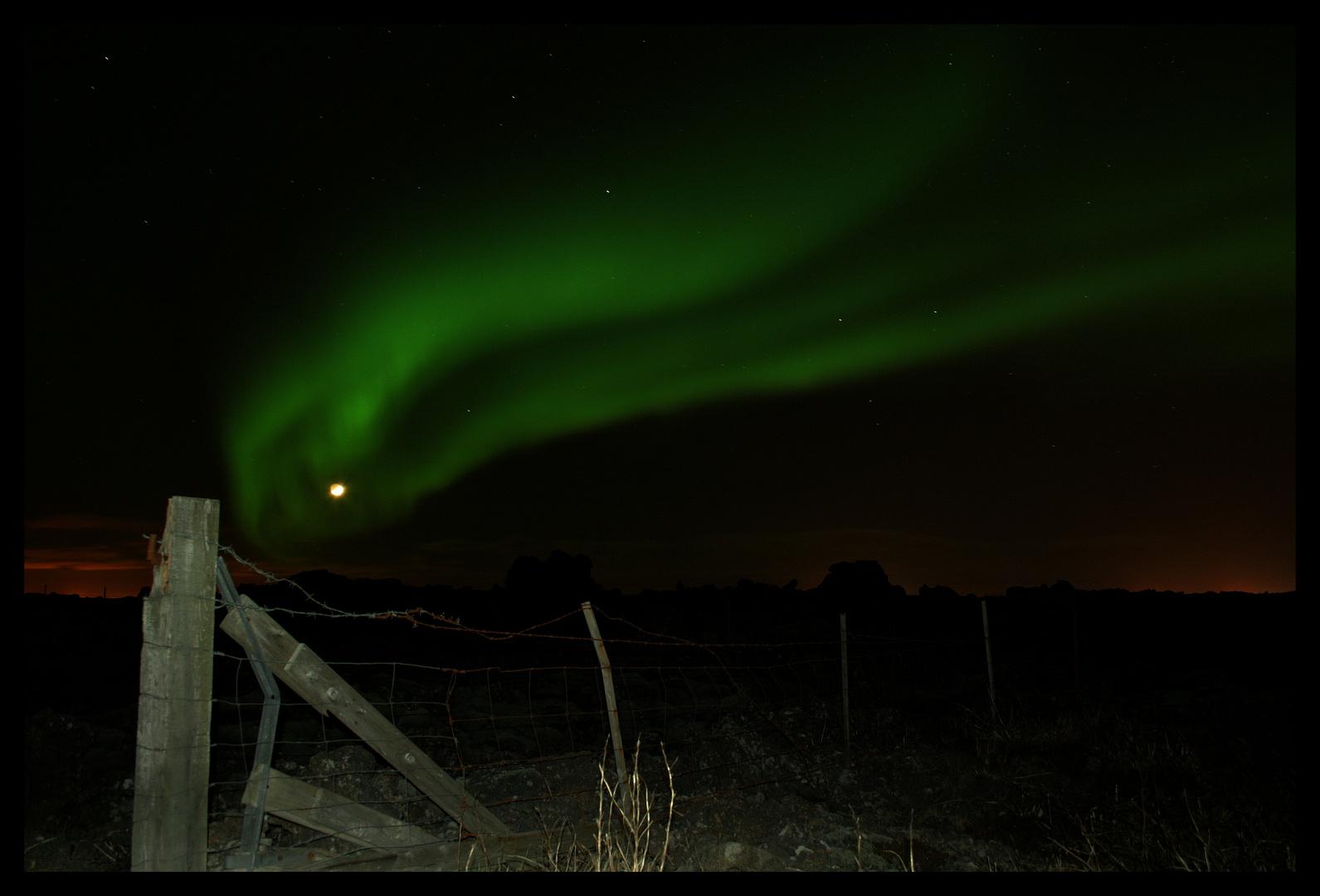 Nordlicht am 17.02.2010