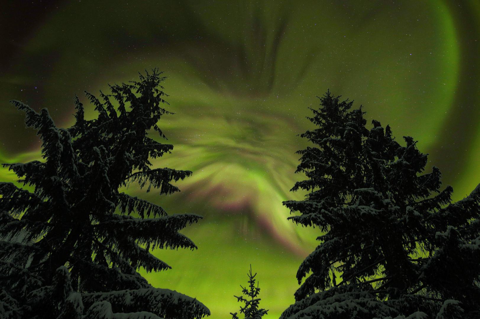 Nordlicht-Corona