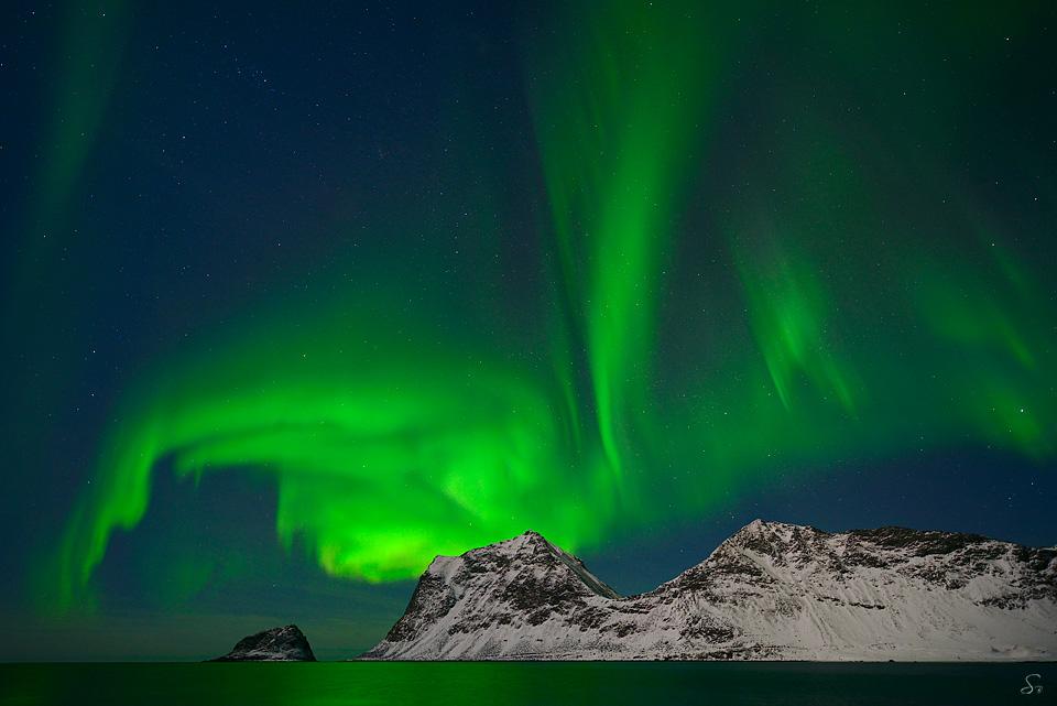 Nordlicht - Fotoschule in Bildern. Naturfotografie