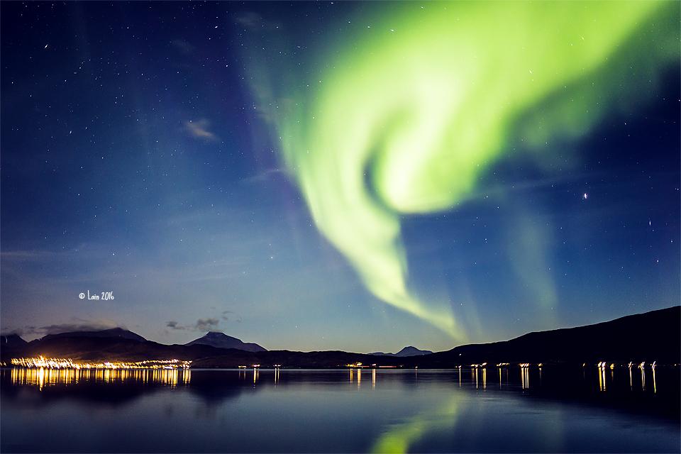 Nordlicht in Norwegen