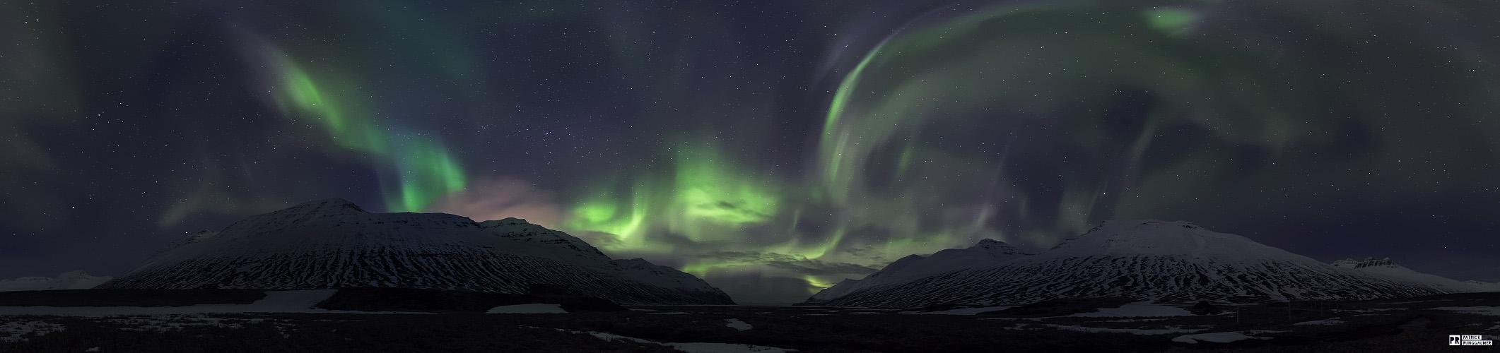 Nordlichter auf der Trollhalbinsel
