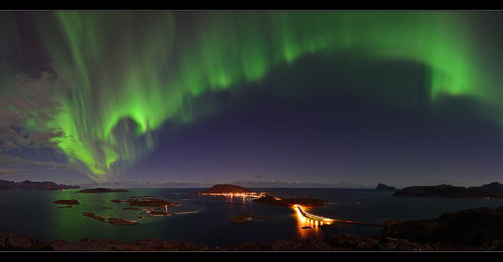 Nordlichtpanorama