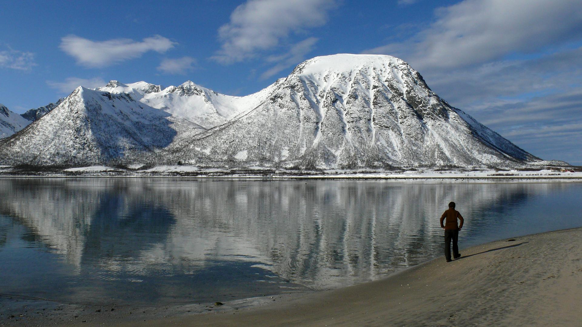 Nordnorwegen Lofoten Morfjord