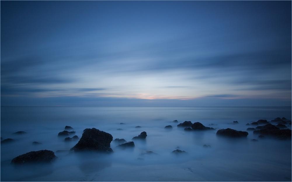 Nordsee Blau in Blau