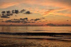 Nordsee im Abendlicht