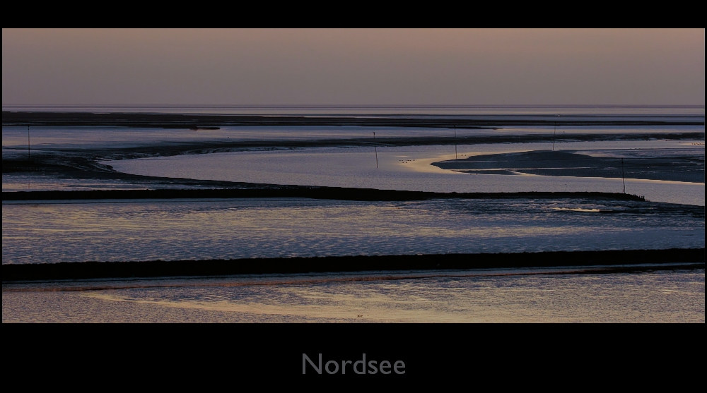 Nordsee in bleu