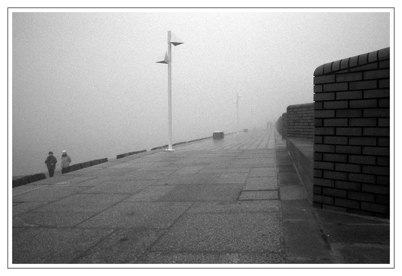 Nordsee - Tristesse (11): Schmuddelwetter ....