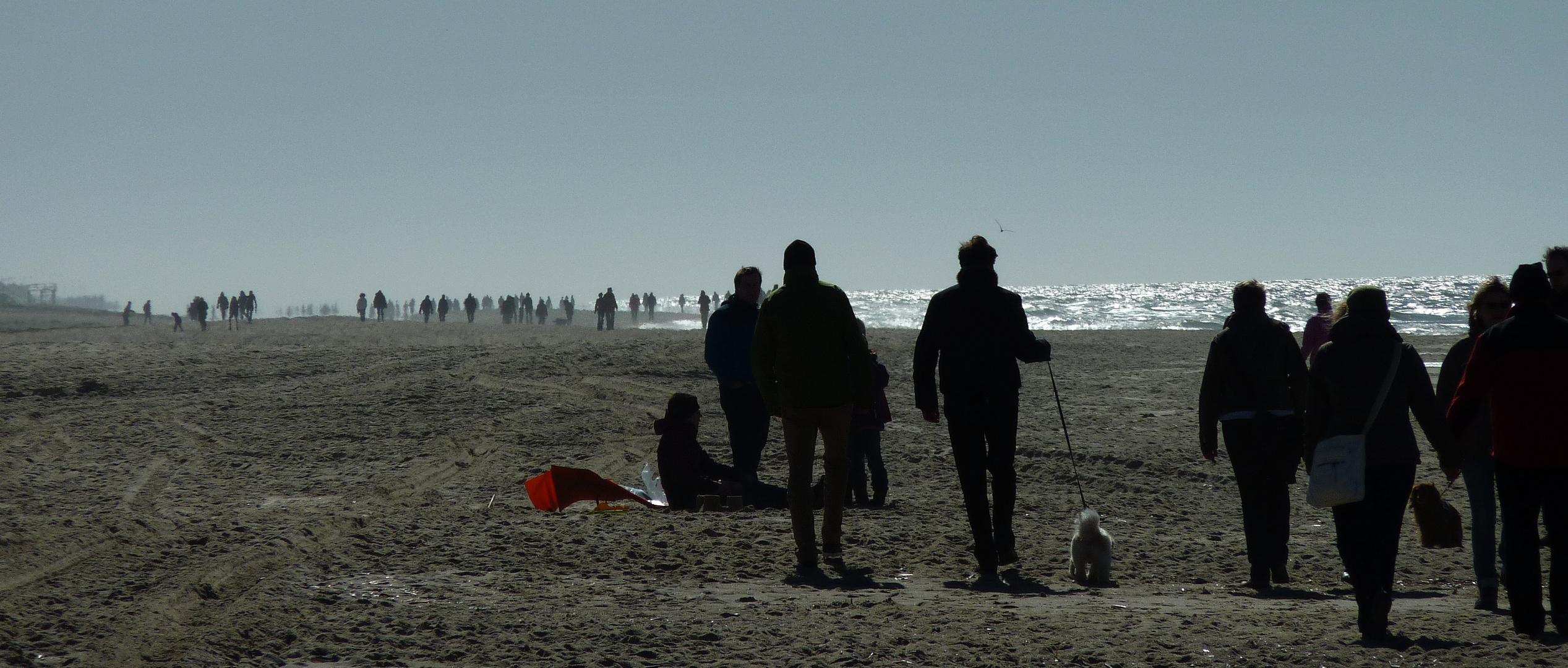 Nordsee zieht an...