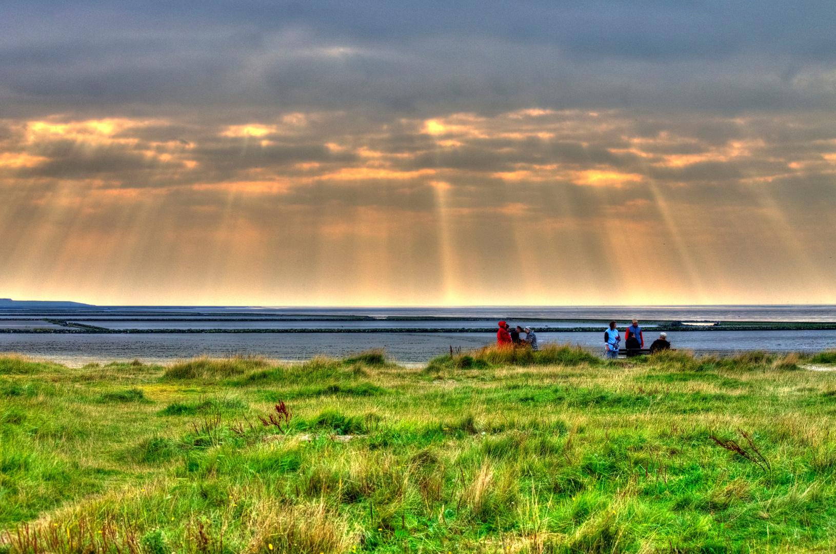 Nordseeküste vor Norddeich