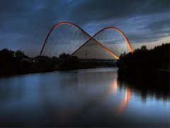 Nordsternpark - Doppelbogenbrücke [HDR]