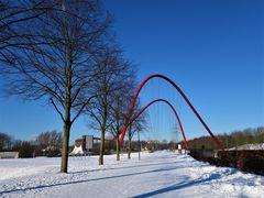 Nordsternpark in Gelsenkichen. Foto vom Februar 2021