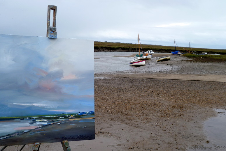 "Norfolk coast impressions ""Early Autumn at Blakeney""  by David Atkins - Marshland"