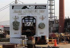 Norfolk & Southern Juniata Locomotive Shop Altoona, PA, USA