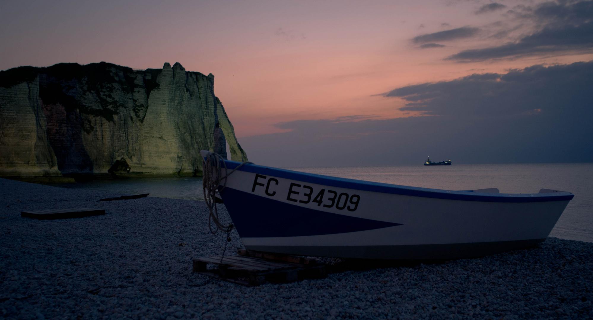 Normandie am Abend *