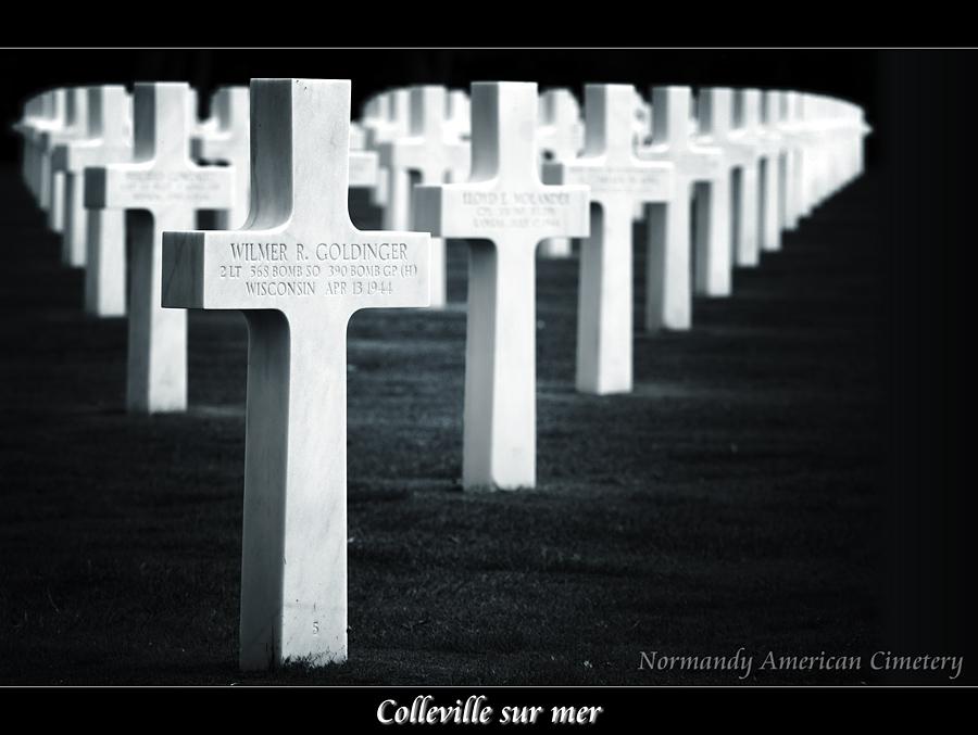 Normandy American Cimetery (Omaha Beach)