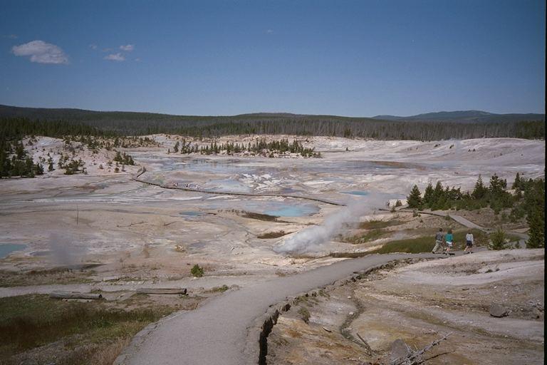 Norris Geyser Basin - Yellowstone NP - Wyoming