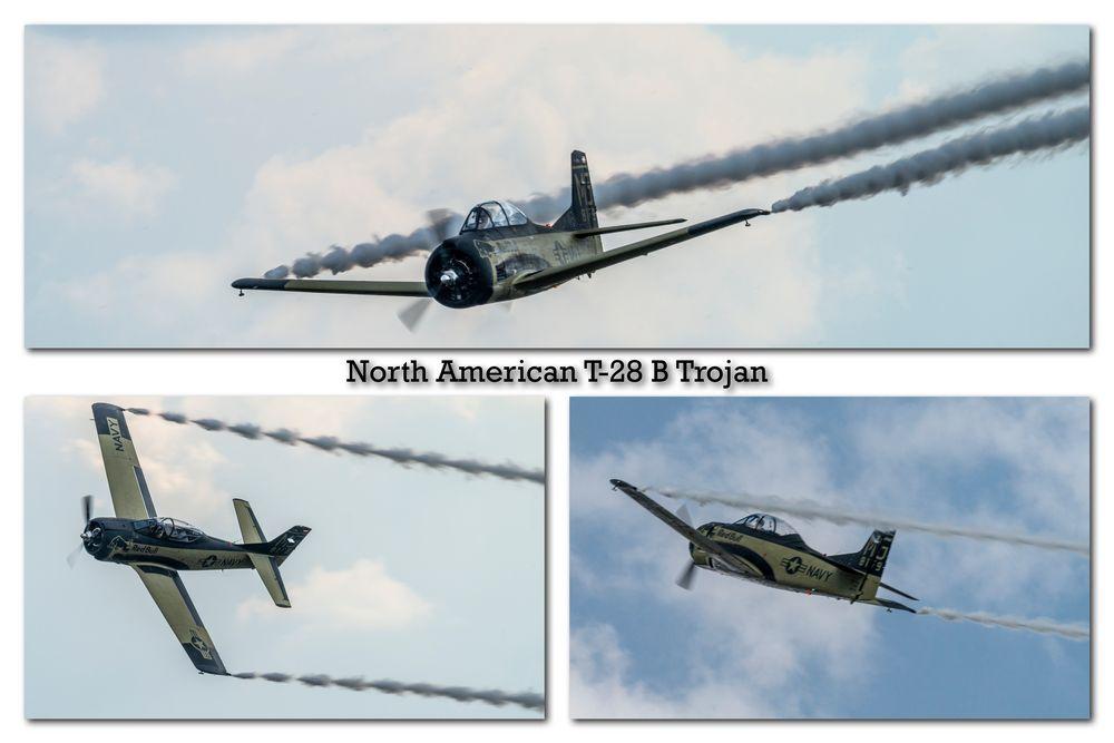 North American T-28 B Trojan
