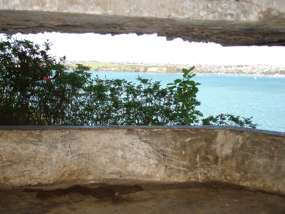 North Head - view out of the bunker