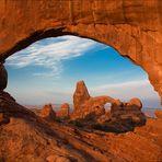North Window/ Turret Arch