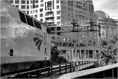 Northbound Amtrak Carolinian Enters Southwest Washington