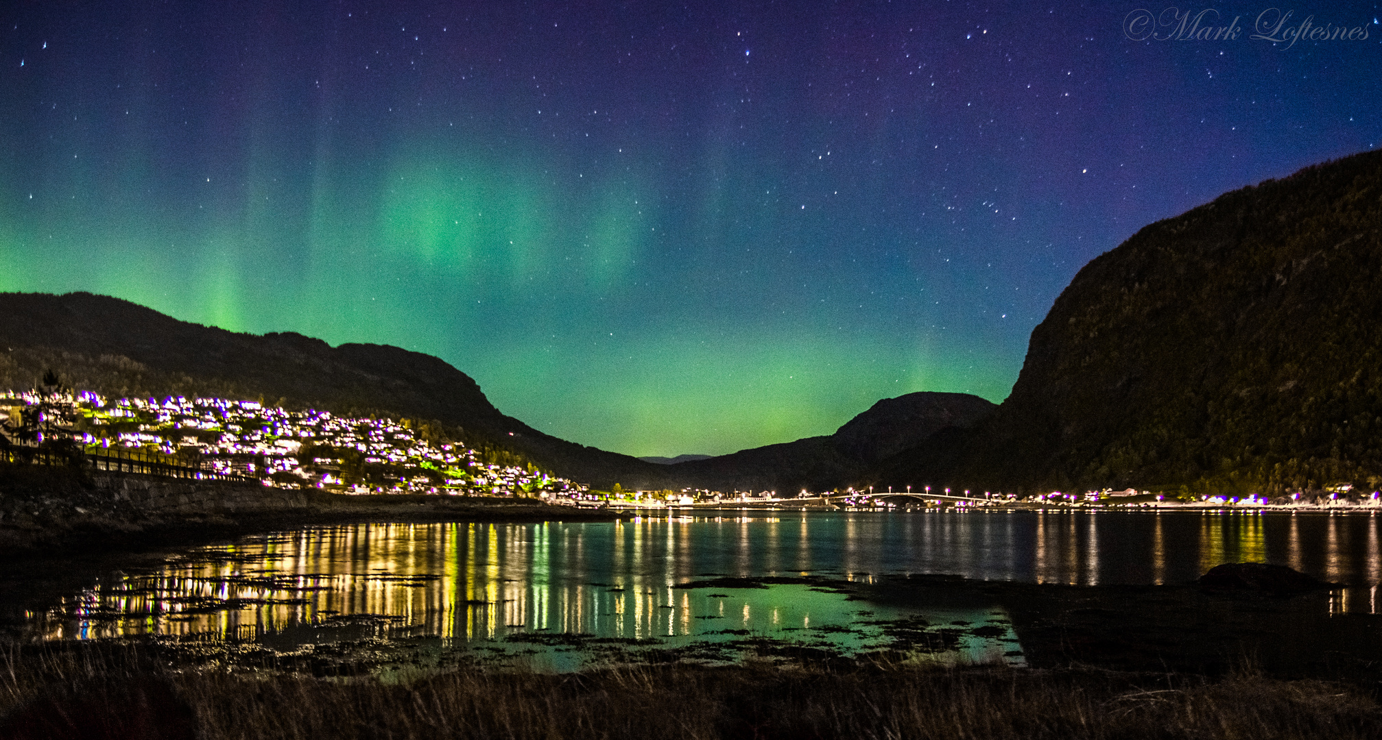 Northern lights from my hometown