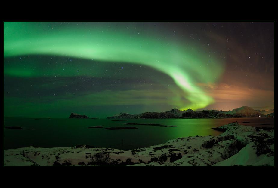 Northern Lights over Tussøya