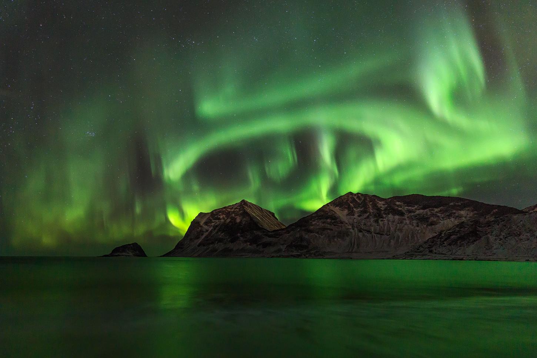 Northern Lights running wild