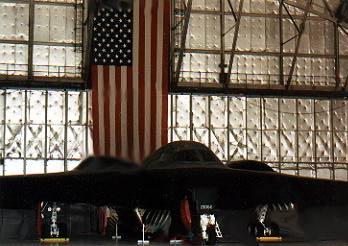 Northrop-Grumman B-2 introduction at Andrews A.F.B.