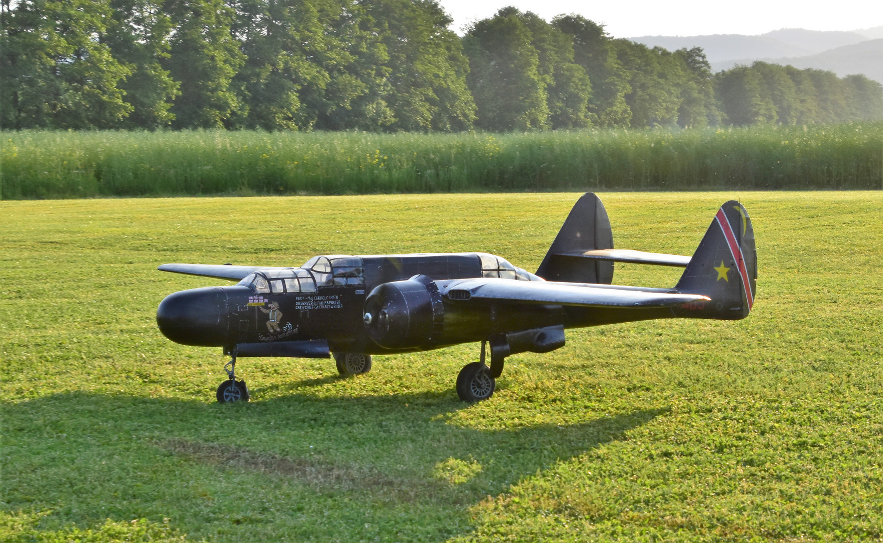 Northrop P-61B Black Widow - USA - Air Force | Aviation