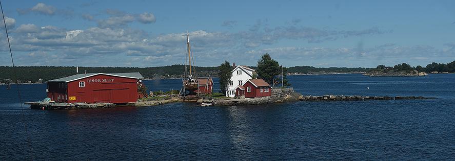 Norvegia,  Kollungtveit, Risor Slipp