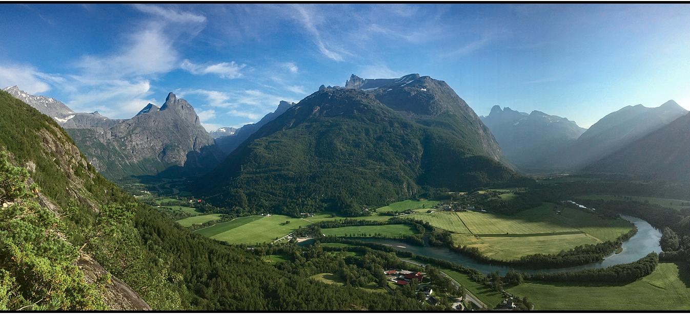 Norway   Blåhammaren viewpoint  