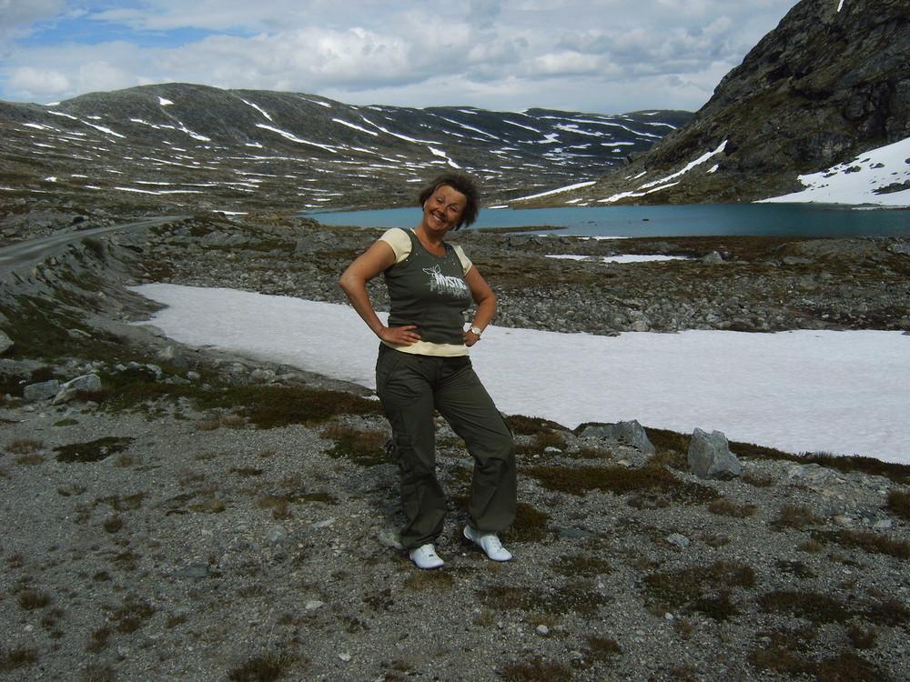 Norway, im Schnee