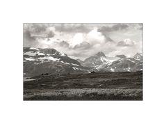 Norway. Monochrome.