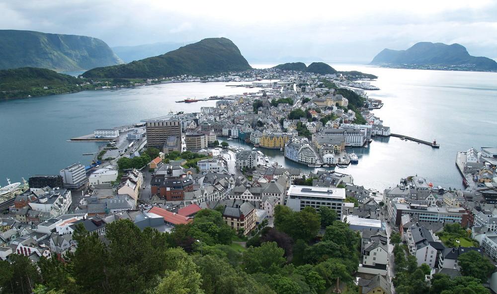 "Norwegen 12 "" ALESUND """