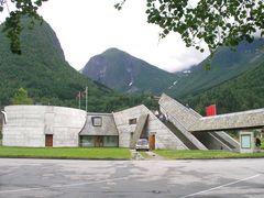 """Norwegen 22 """" GLETSCHERMUSEUM IM FJAERLAND """""""