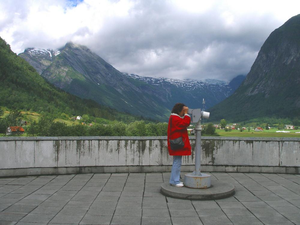 """Norwegen 23 """" BERGKULISSE """""""