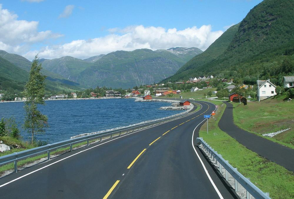 """Norwegen 26 """" HARDANGER-FJORD """""""