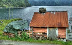 Norwegen - am Fjord