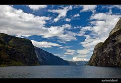 Norwegen: Aurlandsfjord